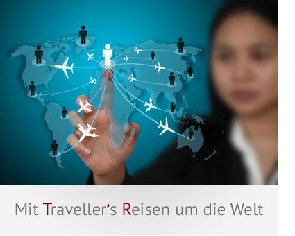Traveller's Weltkarte